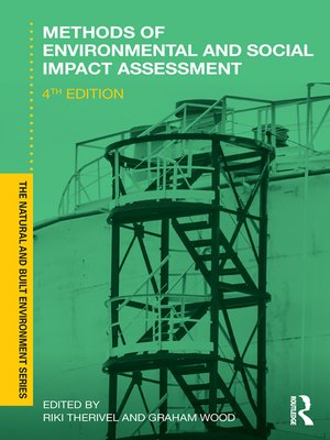 cover image of Methods of Environmental and Social Impact Assessment