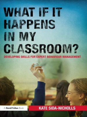 cover image of What if it happens in my classroom?