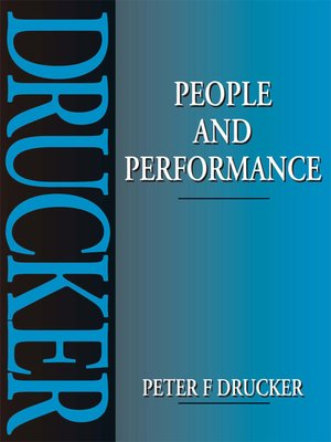 cover image of People and Performance