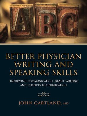 cover image of Better Physician Writing and Speaking Skills