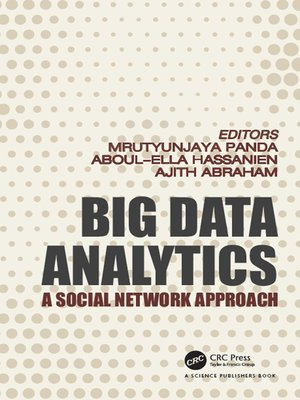 cover image of Big Data Analytics