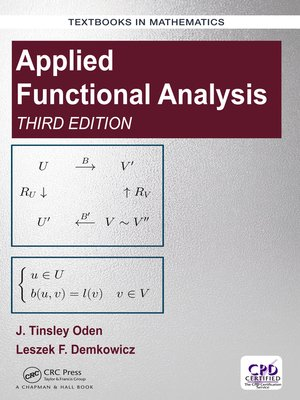 cover image of Applied Functional Analysis