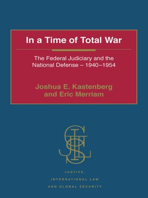 cover image of In a Time of Total War