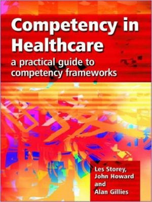 cover image of Competency in Healthcare