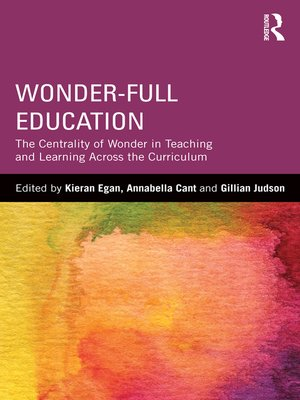 cover image of Wonder-Full Education