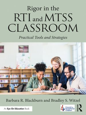 cover image of Rigor in the RTI and MTSS Classroom