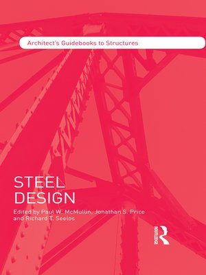 cover image of Steel Design