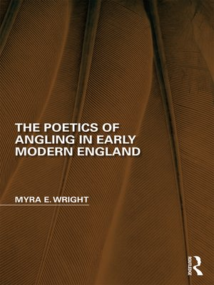 cover image of The Poetics of Angling in Early Modern England
