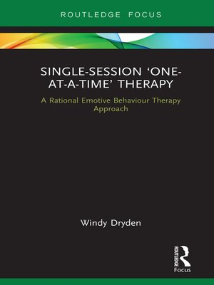 cover image of Single-Session 'One-at-a-Time' Therapy