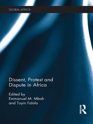 cover image of Dissent, Protest and Dispute in Africa