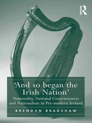 cover image of 'And so began the Irish Nation'