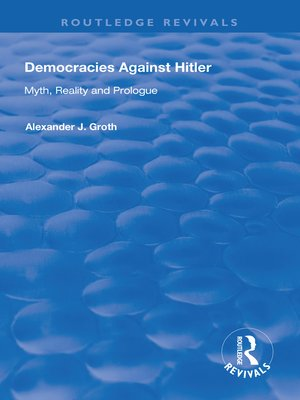 cover image of Democracies Against Hitler