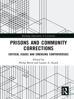 cover image of Prisons and Community Corrections