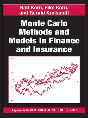 cover image of Monte Carlo Methods and Models in Finance and Insurance