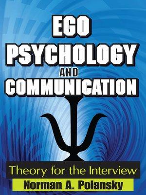 cover image of Ego Psychology and Communication