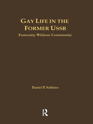 cover image of Gay Life in the Former USSR