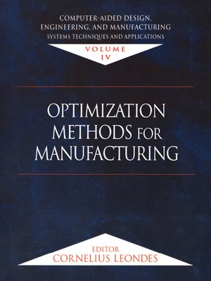 cover image of Computer-Aided Design, Engineering, and Manufacturing