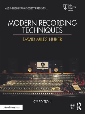 cover image of Modern Recording Techniques