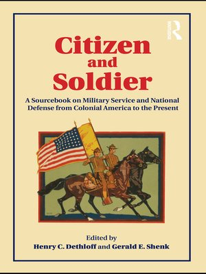 cover image of Citizen and Soldier