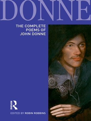 cover image of The Complete Poems of John Donne