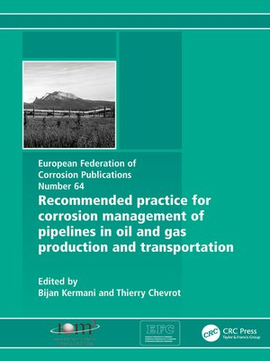 cover image of Recommended Practice for Corrosion Management of Pipelines in Oil & Gas Production and Transportation