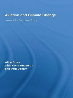 cover image of Aviation and Climate Change