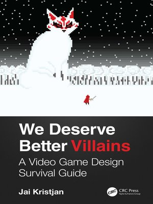 cover image of We Deserve Better Villains