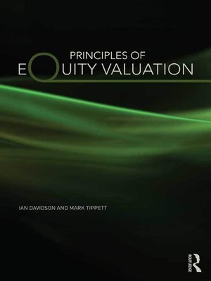 cover image of Principles of Equity Valuation