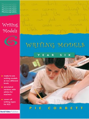 cover image of Writing Models Year 6