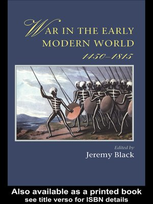 cover image of War In the Early Modern World