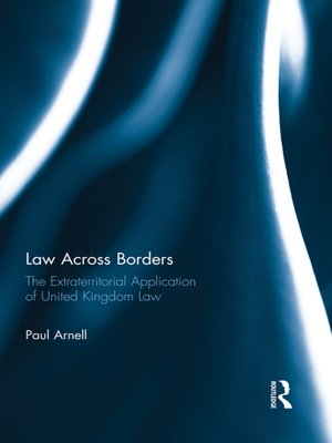cover image of Law Across Borders