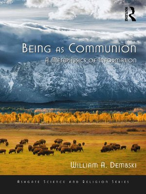 cover image of Being as Communion