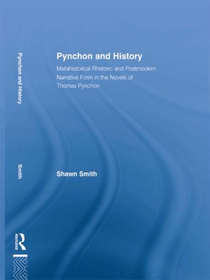 cover image of Pynchon and History