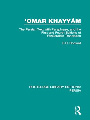 cover image of 'Omar Khayyám