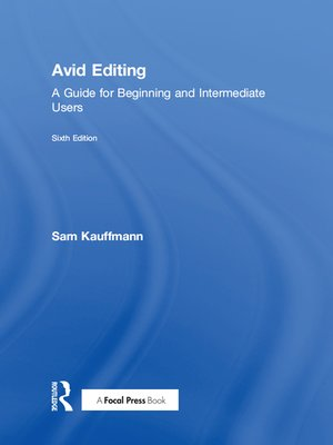 cover image of Avid Editing