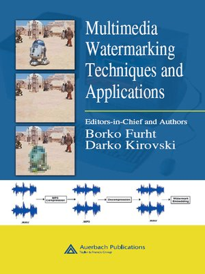 cover image of Multimedia Watermarking Techniques and Applications
