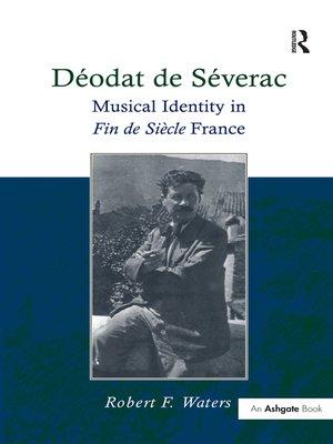cover image of Déodat de Séverac