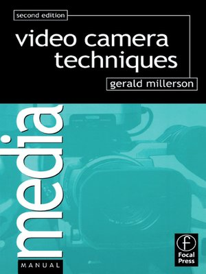 cover image of Video Camera Techniques
