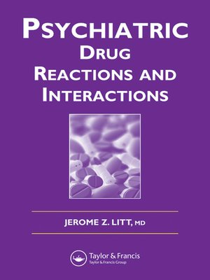 cover image of Psychiatric Drug Reactions and Interactions