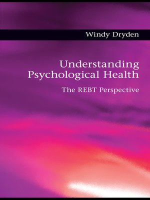 cover image of Understanding Psychological Health