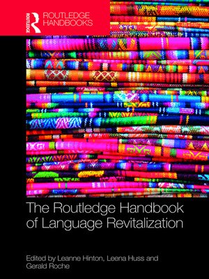 cover image of The Routledge Handbook of Language Revitalization
