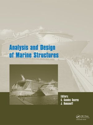cover image of Analysis and Design of Marine Structures