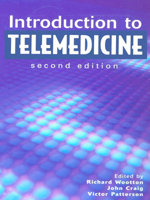 cover image of Introduction to Telemedicine