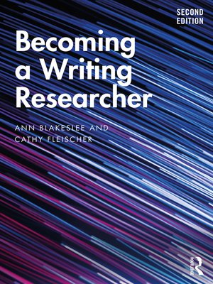 cover image of Becoming a Writing Researcher