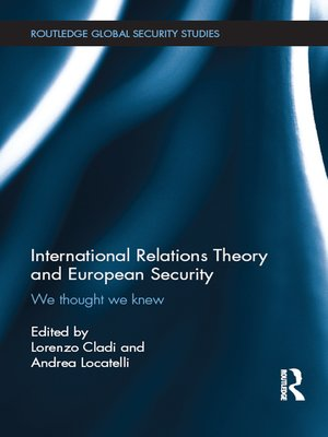 cover image of International Relations Theory and European Security