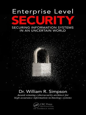 cover image of Enterprise Level Security