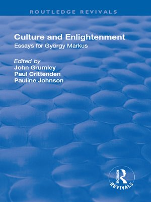 cover image of Culture and Enlightenment