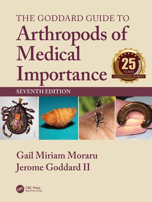 cover image of The Goddard Guide to Arthropods of Medical Importance