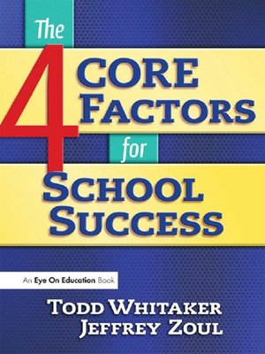cover image of 4 CORE Factors for School Success