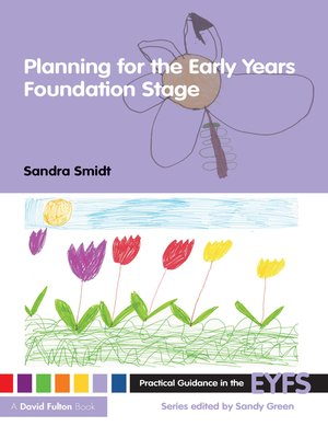 cover image of Planning for the Early Years Foundation Stage